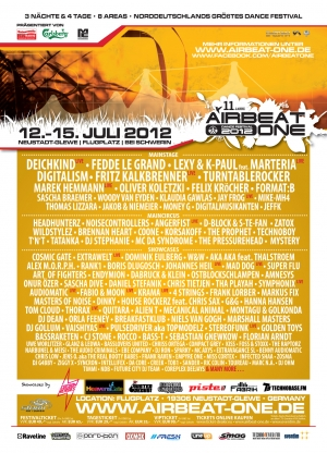 Airbeat-One 12. bis 15.Juli 2012