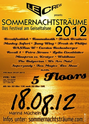 SAMSTAG 18.08.2012 // MARINA MCHELN // SOMMERNACHTSTRUME