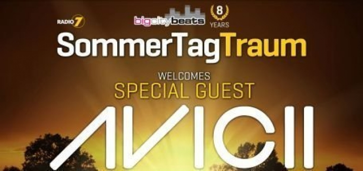 +++ BREAKING NEWS +++ AVICII kommt zum SommerTagTraum 2012 +++