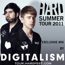 Hard Summer Tour 2011 - Exclusive Mix by Digitalism