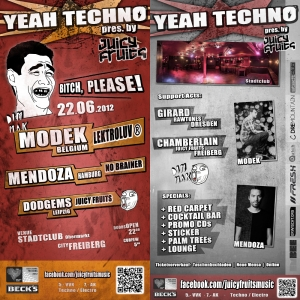 YEAH TECHNO - MODEK und MENDOZA