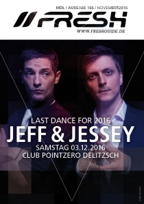 SA 03.12.16 : LAST DANCE FOR 2016 @ Club Pointzero Delitzsch