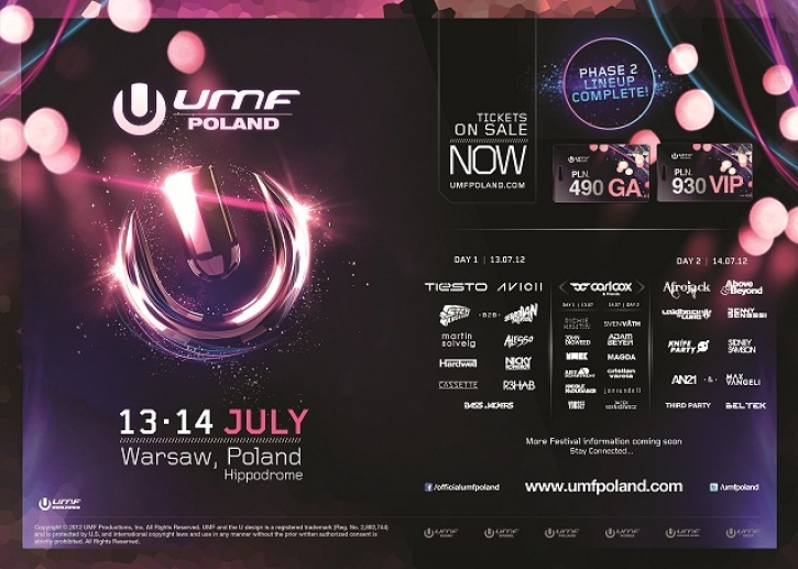 FR 13.07.12 - SA 14.07.12 // HIPPODROME WARSCHAU // UMF POLAND